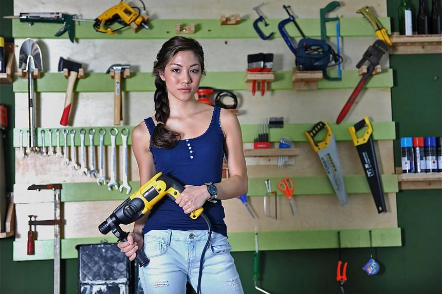 Former national youth swimmer Narelle Kheng will create DIY furniture pieces on her show.