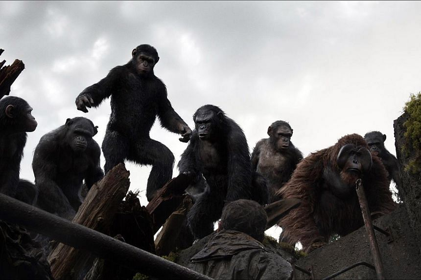 Like all good post-apocalypse movies, Dawn Of The Planet Of The Apes ends in a battle. -- PHOTO: TWENTIETH CENTURY FOX