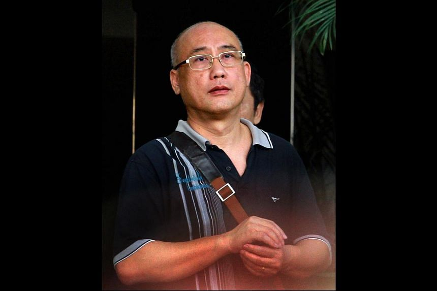Businessman Chia Puay Yeohwas jailed for 15 months on Thursday, July 10, 2014. forcooking his books to claim Goods and Services Tax (GST) refunds he was not entitled to. -- ST PHOTO