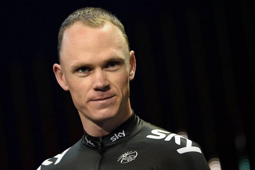 Chris Froome will now target the Vuelta a Espana after crashing out of the Tour de France, his team manager Dave Brailsford said. -- PHOTO: AFP
