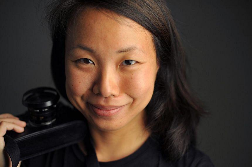 Photographer Sim Chi Yin. -- PHOTO: JOYCE FANG