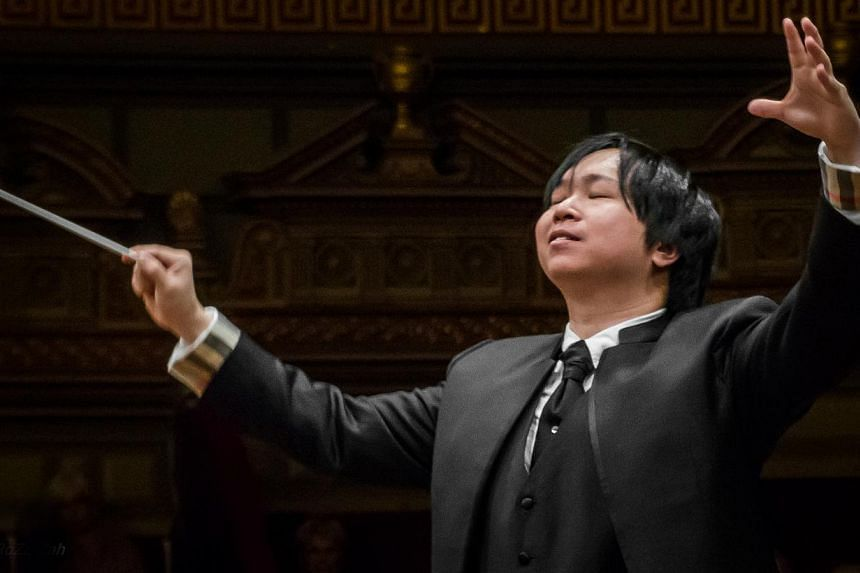 Artistic director and conductor Wong Kah Chun (above) formed Asian Contemporary Ensemble because of his passion for Asian cultures and heritage. The group includes pianist Abigail Sin, accordionist Syafiqah 'Adha Sallehin, tabla player Govin Tan an