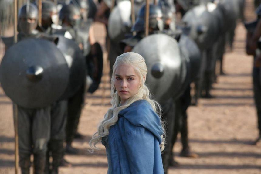 Television still from Game Of Thrones starring Emilia Clarke. -- PHOTO: HBO ASIA