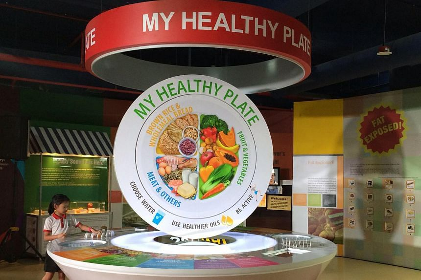 Those interested in their diet will get a new tool called My Healthy Plate to help them make the best eating choices. -- PHOTO: NG SOR LUAN