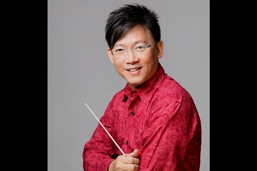Quek Ling Kiong, conductor of the Singapore Chinese Orchestra. -- PHOTO: SINGAPORE CHINESE ORCHESTRA