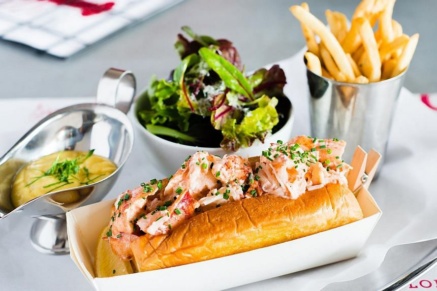 The Lobster roll from Pince & Pints. -- PHOTO: PINCE & PINTS