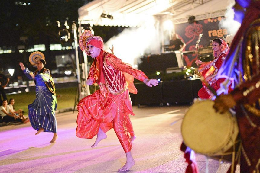 The Asian Civilisations Museum will host its first River Nights festival on July 18 and 19 with performances such as those from Jigri Yaar Bhangra Singapore dance troupe (above). -- PHOTO: ASIAN CIVILISATIONS MUSEUM