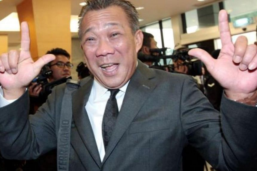 Malaysia's Kinabatangan MP Datuk Bung Moktar Radin has found himself grabbing headlines for outspoken remarks uttered both inside and outside Parliament. -- PHOTO: THE STAR/ASIA NEWS NETWORK