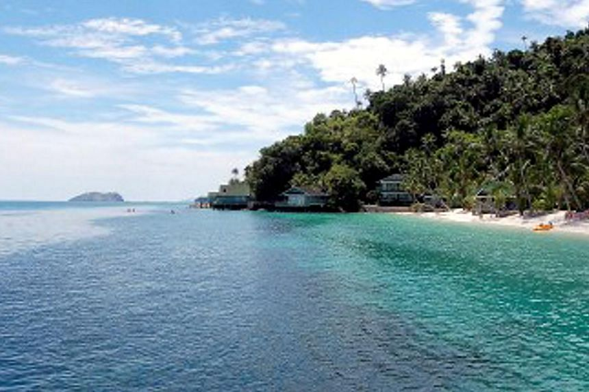 Pulau Rawa is about a 30-minute boat ride from Mersing in Johor. -- PHOTO: THE STAR/ASIA NEWS NETWORK