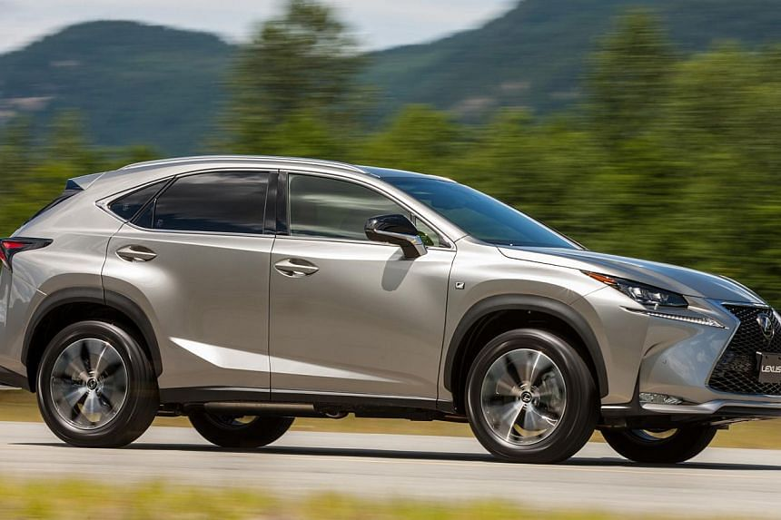 The Lexus NX200t is the brand's first turbo petrol model. -- PHOTO: TOYOTA MOTOR CORP