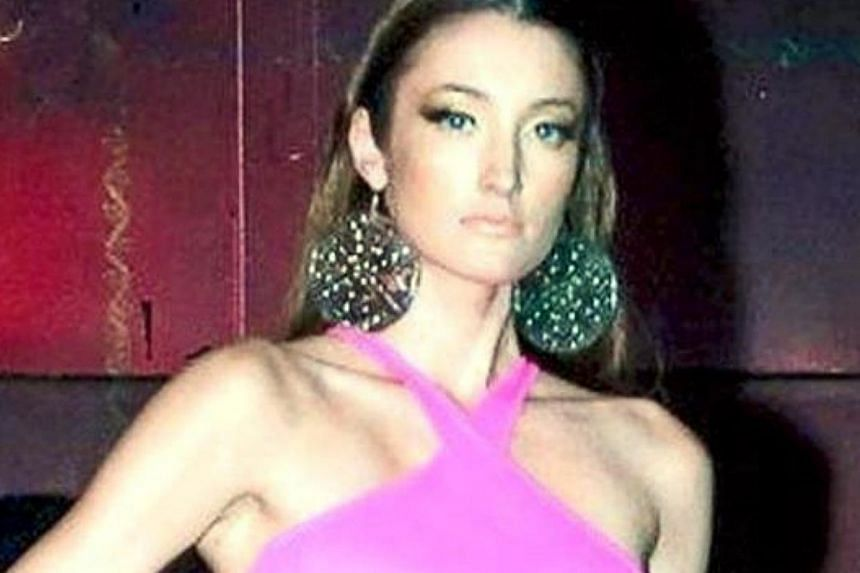 Estonian model Regina Soosalu, whose body was found along a beach in Pulau Rawa on July 1, was happy to holiday on the island, her family said. -- PHOTO: THE STAR/ASIA NEWS NETWORK