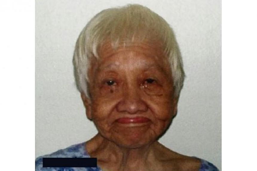 Police are appealing for the next-of-kin of Mdm Lam Lee to come forward. -- PHOTO:SINGAPORE POLICE FORCE