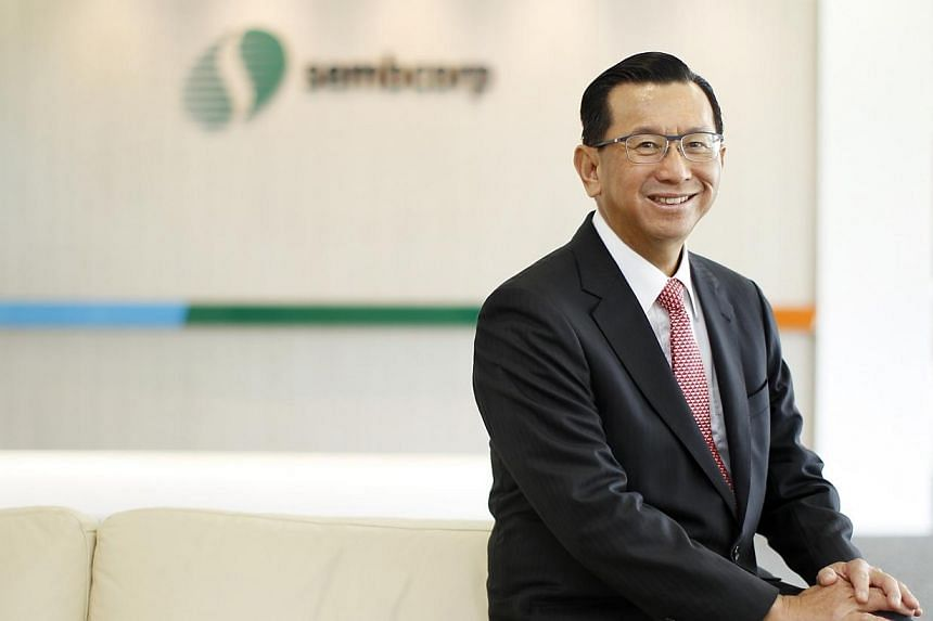 Sembcorp chief executive Tang Kin Fei clinched the title of best CEO at the Singapore Corporate Awards, among companies with $1 billion or more in market capitalisation listed on the Singapore Exchange. -- PHOTO: BUSINESS TIMES