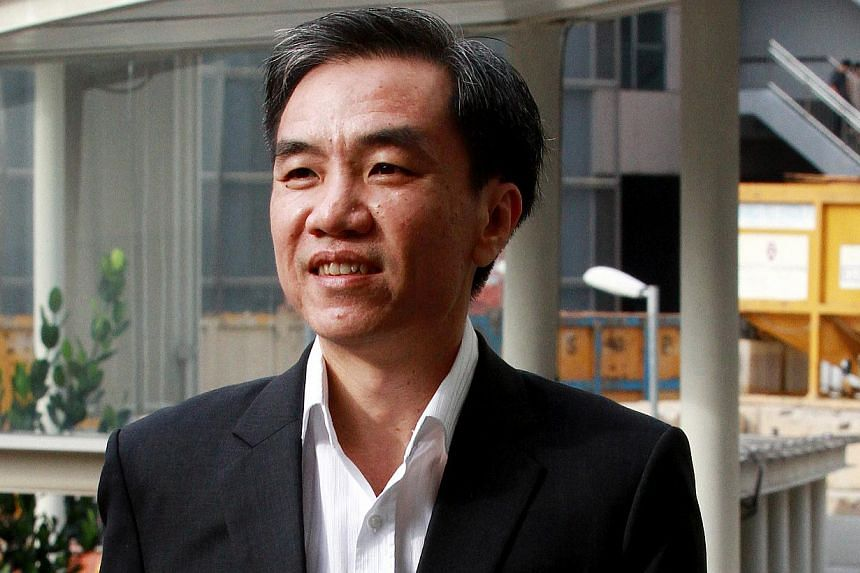 Former City Harvest Church board member John Lam Leng Hung, 46, had raised doubts about projected American album sales of church founder Kong Hee's wife Ho Yeow Sun, he testified on Tuesday. -- ST PHOTO: LAU FOOK KONG