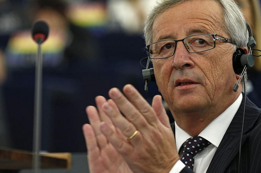 Luxembourg's former conservative premier Jean-Claude Juncker won the endorsement on Tuesday of the European Parliament to become president of the powerful European Commission for the next five years. -- PHOTO: REUTERS