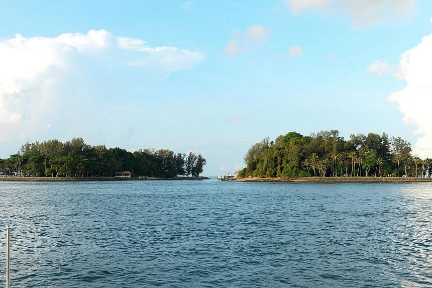 Singapore's southern Sisters' Islands, together with its surrounding waters, has been designated as the first ever marine park in the nation's history. -- PHOTO: SISTERS' ISLAND MARINE PARK