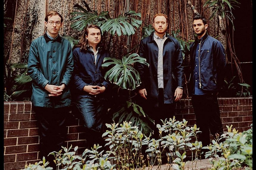 (From left) Bombay Bicycle Club frontman Jack Steadman, bass player Ed Nash, guitarist Jamie MacColl and drummer Suren de Saram. -- PHOTO: SYMMETRY ENTERTAINMENT