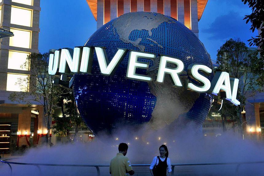 Universal Studios Singapore has been ranked Asia's No. 1 amusement park by TripAdvisor. -- PHOTO: BT FILE