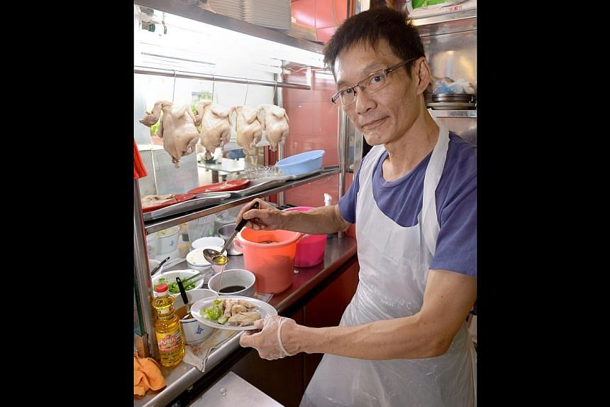 Chicken rice seller Niven Leong, who uses groundnut oil in his dishes, is among those who will consider switching to a healthier option.