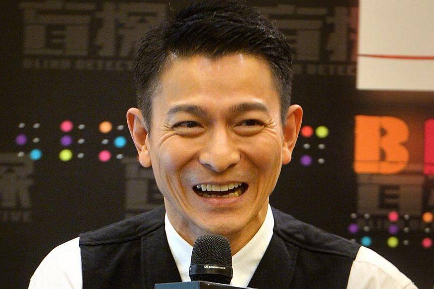 Andy Lau. -- PHOTO: ST FILE