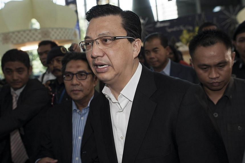 Malaysia's newly appointed Transport Minister Liow Tiong Lai leaves the Kuala Lumpur International Airport in Sepang on July 18, 2014. Ukraine is responsible for the investigations of the crash of Malaysia Airlines Flight MH17, said Mr Liow&nbsp