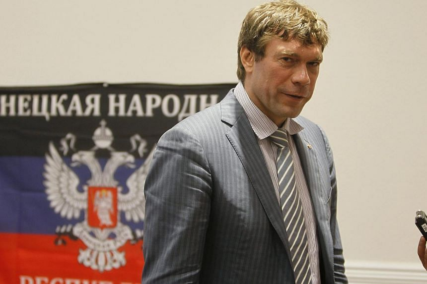 Oleg Tsarev, pro-Russian politician and former candidate in the 2014 Ukrainian presidential election, attends a news conference in Donetsk on June 27, 2014. Separatists in Ukraine said they lack the firepower to have shot down Malaysia Airlines MH17