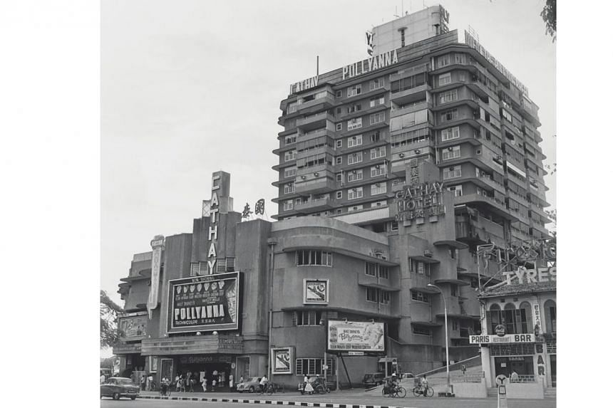 Cathay Building and Cathay Hotel, Singapore, in the 1960s. The film conglomerate Singaporeans now know as the Cathay Organisation was set up on July 18, 1935. -- PHOTO: ST FILE