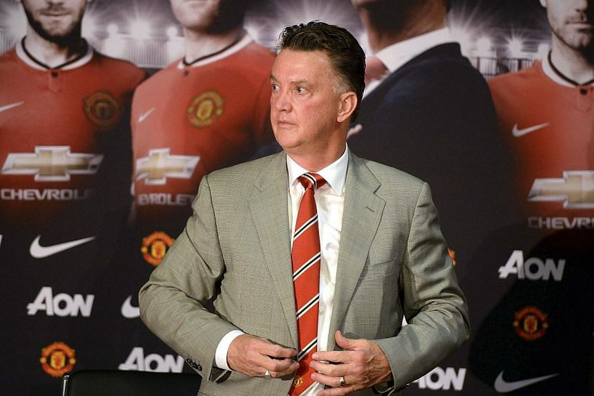 Louis van Gaal will take a close look at Manchester United's next generation of talent after including several youngsters in his squad for the club's pre-season tour to the United States. -- PHOTO: REUTERS