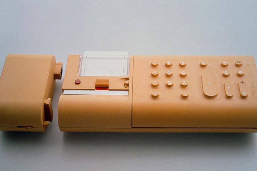 Other designs: Bellini's (left) Cab 412 chair (above), electronic calculator Divisumma 18 (right) and car concept Kar-a-Sutra (left below). Mario Bellini's architectural projects include the Tokyo Design Center in Japan (above and left), the Departme