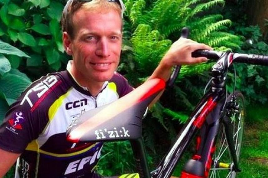 Dutch cyclist Maarten de Jonge cheated death twice after he made last minute changes to his tickets for Malaysia Airlines flights MH370 and MH17. -- PHOTO TAKEN FROM TWITTER