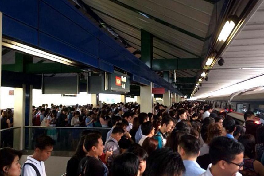 Train services were disrupted along the North-South Line at around 8.11am on 20 January 2014, due to a train breakdown near Ang Mo Kio Station.Rail operators SMRT and SBS Transit will been fined $1.6 million and $50,000 respectively for disrupt