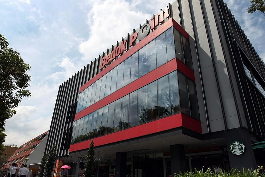 Occupancy at Bedok Point improved to 99.3 per cent from 77 per cent in the preceding quarter, which helped to lift third-quarter earnings at Frasers Centrepoint Trust. -- PHOTO: ST FILE