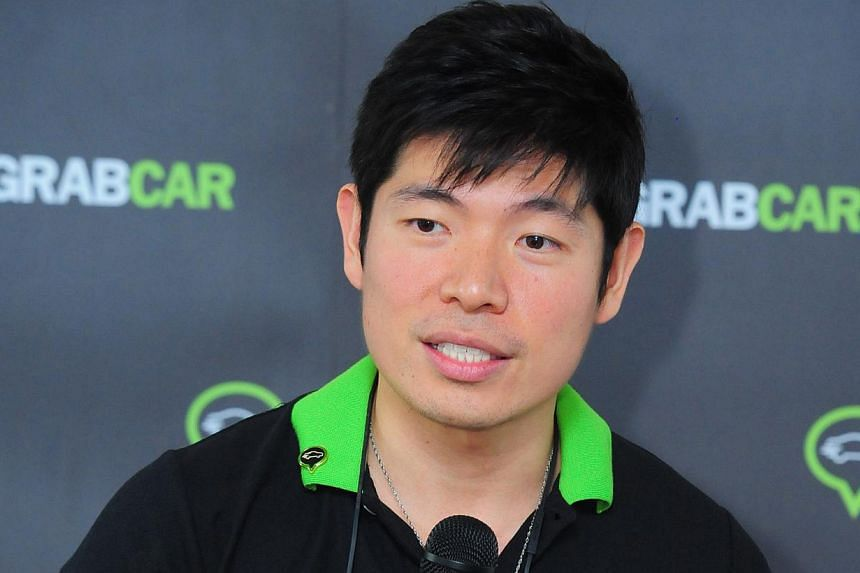 Questions raised included whether taxi booking app GrabTaxi is entitled to call itself a social enterprise. Founder Anthony Tan (above) has said the app is a social enterprise because it helps taxi drivers earn more money. -- PHOTO: GRABTAXI