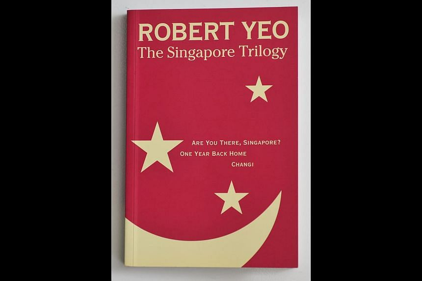 The play Are You There, Singapore? is published as part of The Singapore Trilogy.