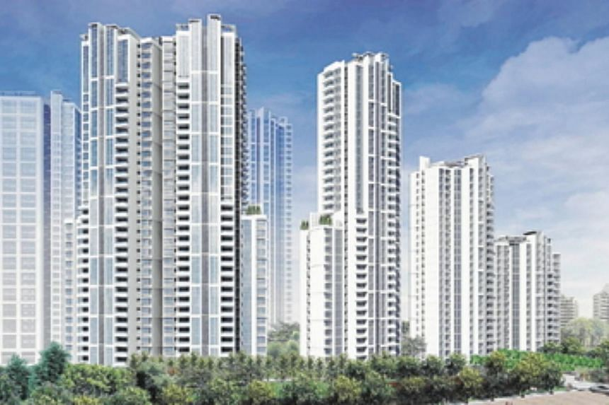 Keppel Land's 8 Park Avenue. Keppel Land's net profit for the second quarter ended June 30 rose 12.2 per cent to $107.2 million, thanks to higher contributions from it's residential projects in China. -- PHOTO: KEPPEL LAND