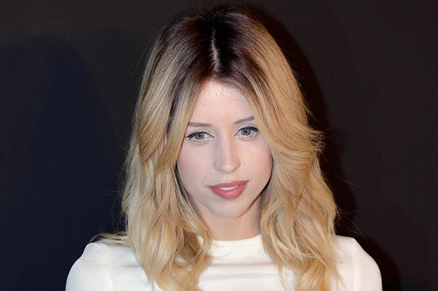 The death of British TV host and model Peaches Geldof was drugs-related, a coroner ruled on July 23, 2014. -- PHOTO: AFP