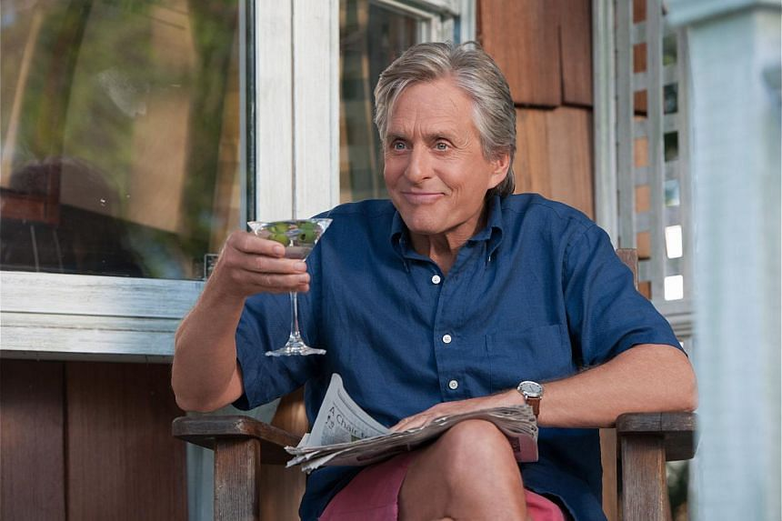 Actor Michael Douglas, who stars in And So It Goes (above), on his life after he has been given the all-clear from tongue cancer. -- PHOTO: SHAW ORGANISATION