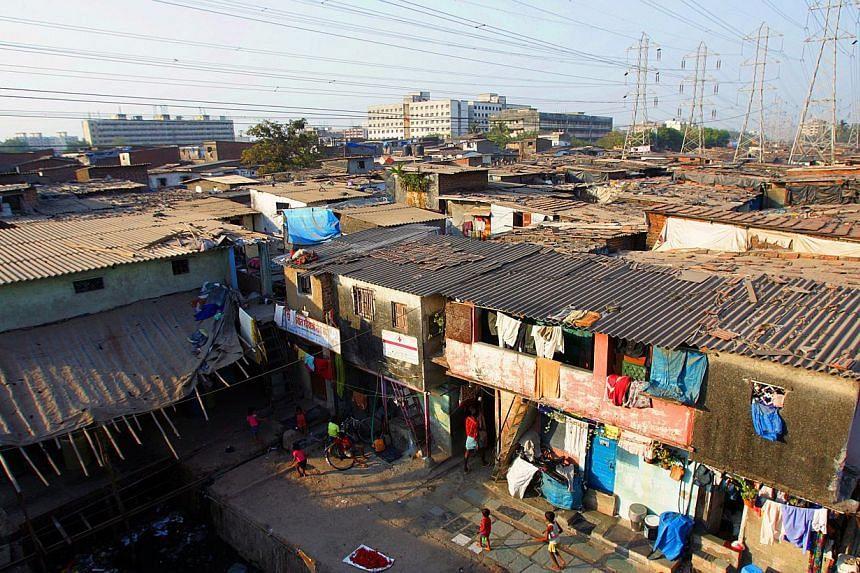 The Dharavi slums in Mumbai, India -- PHOTO: ARUN RAMU/SPH