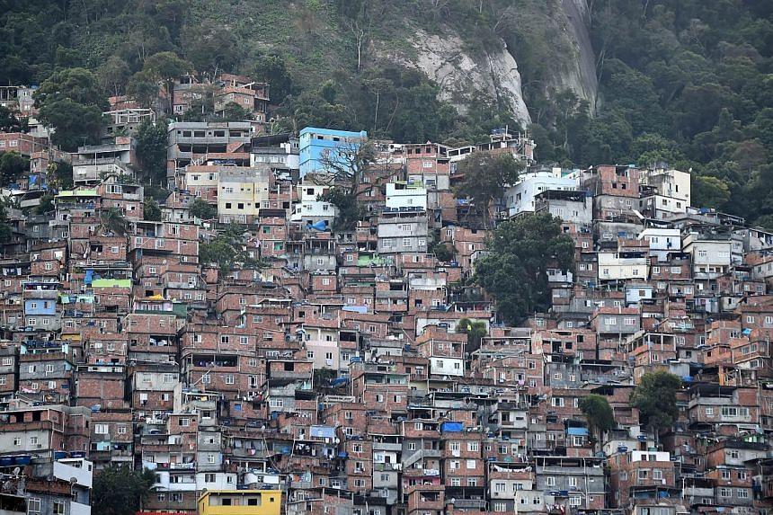 A view of Rocinha Favela -- PHOTO: AFP