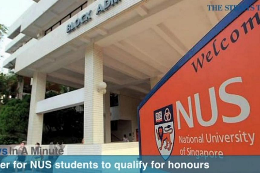 In today's The Straits Times News In A Minute video, we look at the National University of Singapore renaming different honours categories. -- PHOTO: SCREENGRAB FROM VIDEO