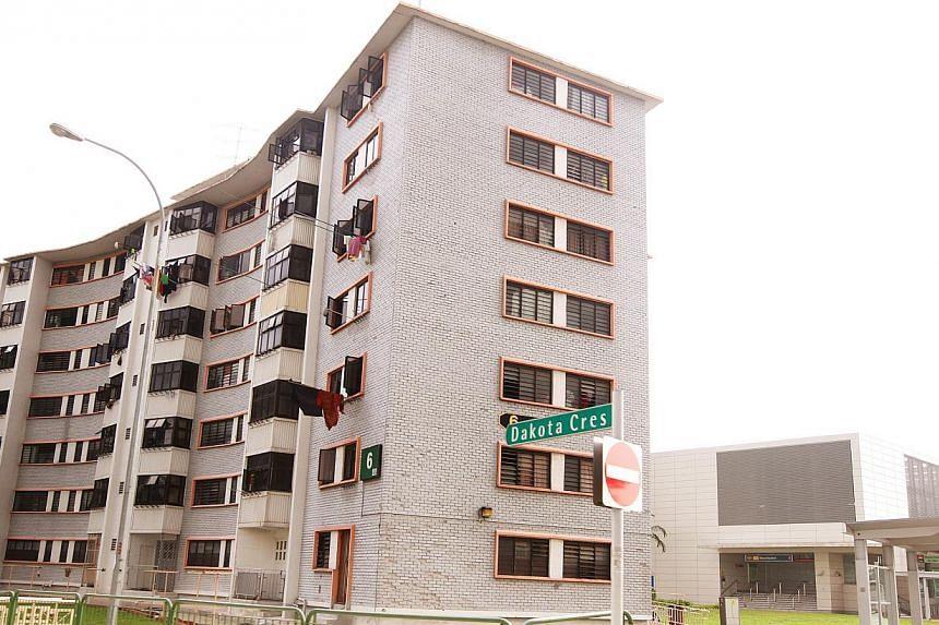 Singapore Improvement Trust (SIT) HDB flats at Dakota Crescent.-- PHOTO: THE NEW PAPER FILE