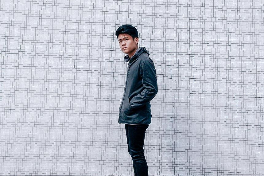 Singer-songwriter Joel Tan also known as Gentle Bones. -- PHOTO: THE LINCH AGENCY