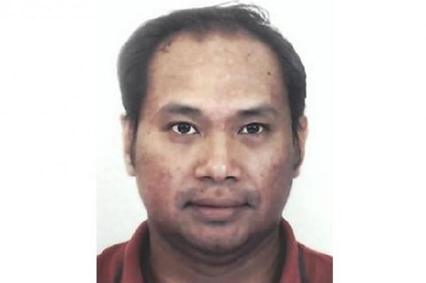 Police are appealing for information on the whereabouts of 33-year-old Dhanny Iskandar Bin Mohd Yim. -- PHOTO: SINGAPORE POLICE FORCE