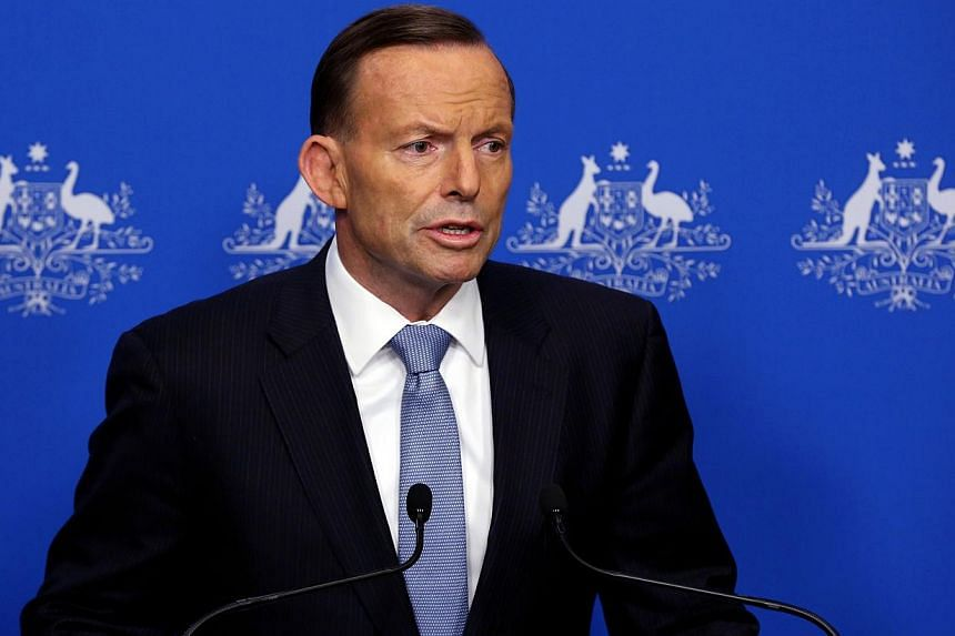 Russian President Vladimir Putin and Australian Prime Minister Tony Abbott (above) on Saturday discussed how an international probe could be set up into the downing of Malaysian Airlines flight MH17 in Ukraine, in which 28 Australians were killed. --