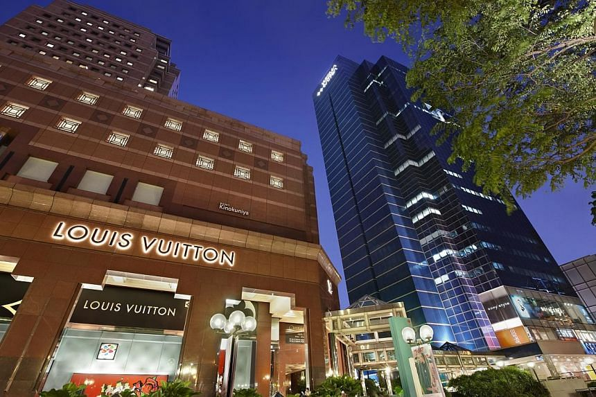 A strong Singapore portfolio helped lift earnings at Starhill Global Reit, which owns parts of the Wisma Atria and Ngee Ann City shopping malls, for the second quarter this year.-- PHOTO:YTL STARHILL GLOBAL REIT MANAGEMENT