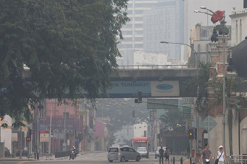 """Air quality around Malaysia was """"unhealthy"""" in nine areas as at 1pm on Tuesday with the worst-hit being Sibu in Sarawak. According to the Department of Environment, Sibu recorded an Air Pollutant Index (API) of 161. Air quality around Malaysia's"""