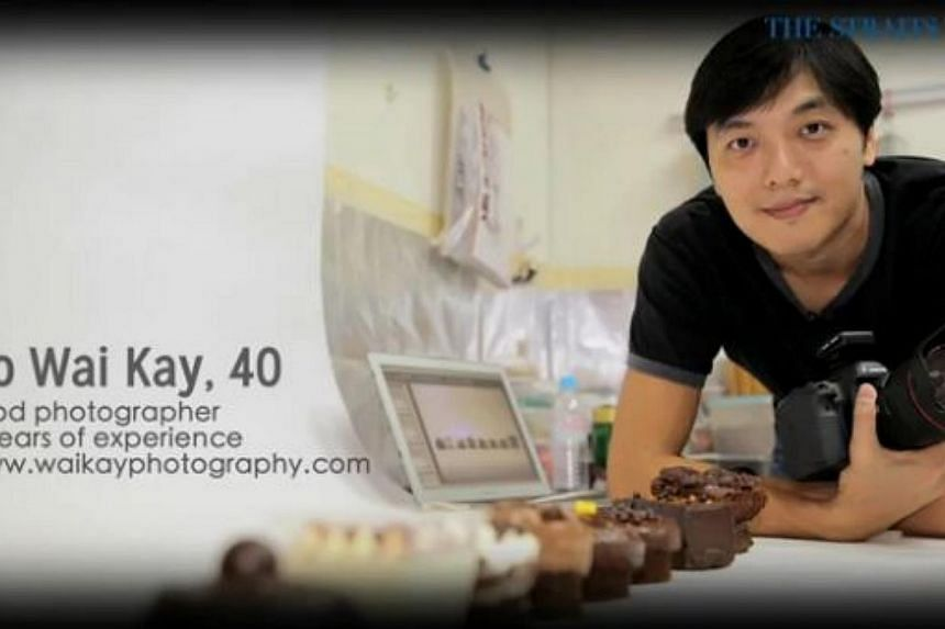 In the second episode, food photographer Ho Wai Kay gives tips on how to take that perfect food product shot.--PHOTO: SCREENGRAB FROM RAZORTV