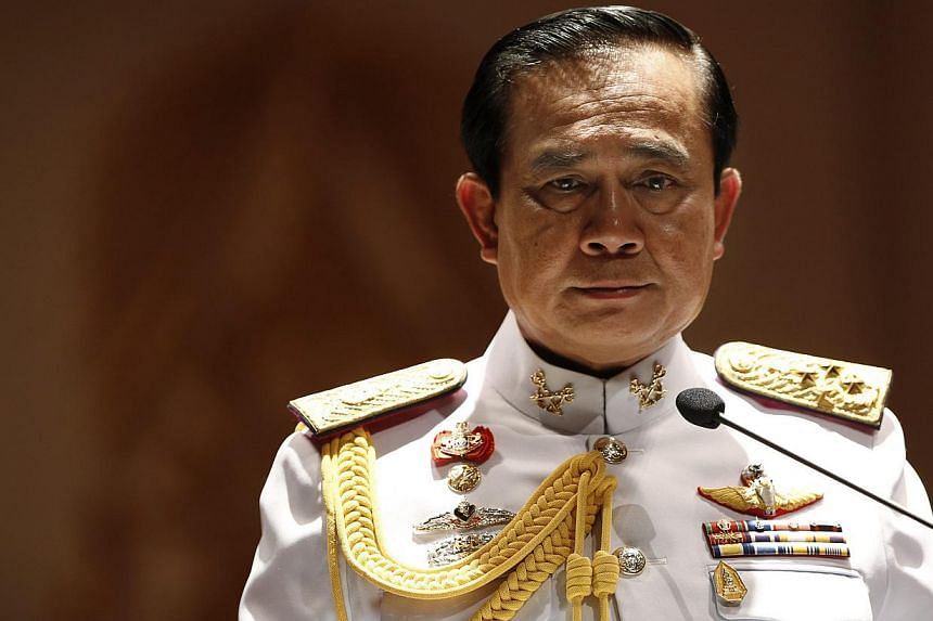 Thailand's military junta, led by army chief Prayuth Chan-ocha, has approved a plan to invest in urgent infrastructure projects, including 867 billion baht (S$33 billion) for eight dual-track rail lines, a senior official said on Tuesday, July 29, 20