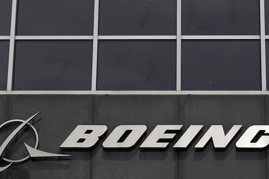 The Boeing logo is seen at their headquarters in Chicago, in this file photo taken on April 24, 2013. Boeing said about 533,000 new commercial pilots would be needed worldwide in the next two decades to cater to a growing global fleet. -- PHOTO: REUT