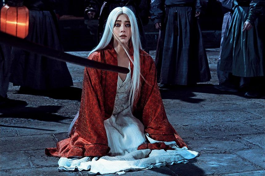 Fan Bingbing stars as the Jade Raksha in The White Haired Witch Of Lunar Kingdom. -- PHOTO: SHAW ORGANISATION